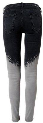 Current/Elliott Current Elliott Black dust Ankle Skinny Jeans