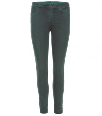 7 For All Mankind Seven TAILORED CROPPED SKINNY JEANS