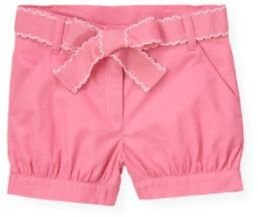 Janie and Jack Belted Cuffed Short
