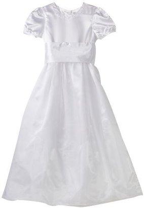 Hartstrings Big Girls' Big Communion and Flower Girl Organza Dress