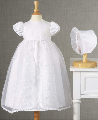 Lauren Madison Baby Girls' Split-Front Christening Dress $58 thestylecure.com