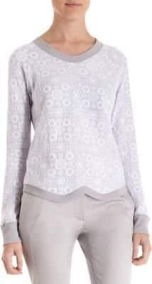 ICB Lace Overlay Sweater