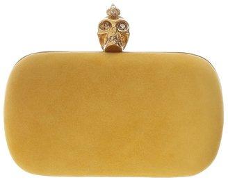 Alexander McQueen Seasonal Punk Skull (Gold) Handbags