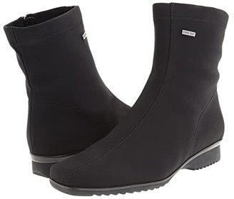 ara Page (Black Fabric) Women's Waterproof Boots