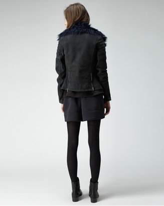 3.1 Phillip Lim shearling biker jacket