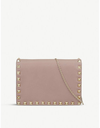 Valentino Rockstud cross-body bag, Women's, Poudre