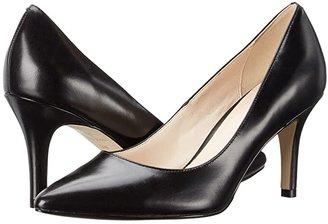 Cole Haan Juliana Pump 75mm (Black Leather) High Heels
