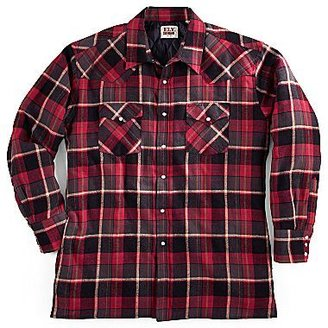 JCPenney Ely Cattleman® Quilted Flannel Shirt Jacket – Big & Tall