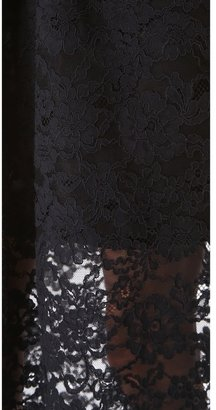 Tibi Strapless Lace Dress