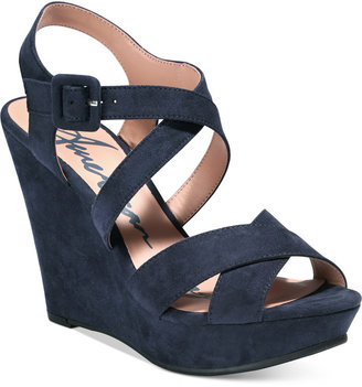 American Rag Rachey Platform Wedge Sandals, Only at Macy's Women's Shoes $59.50 thestylecure.com