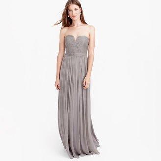 Nadia long dress in silk chiffon $298 thestylecure.com