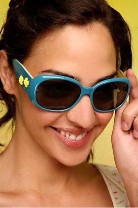 Free People Audrey Flower Sunglasses