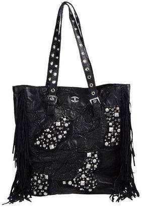 Just Cavalli Large leather bag