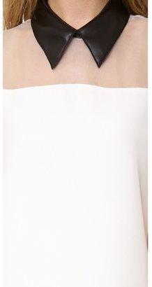 3.1 Phillip Lim Sleeveless Tuxedo Dress