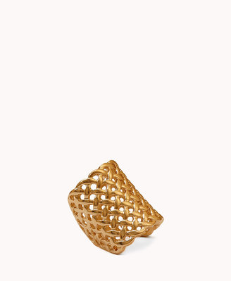 Forever 21 Woven Cocktail Ring