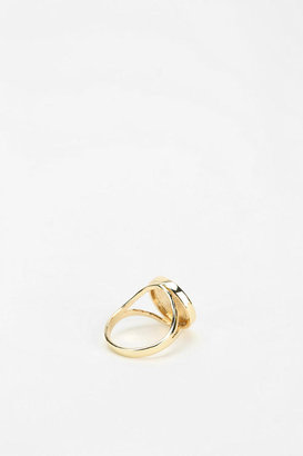 Urban Outfitters Signet Initial Ring