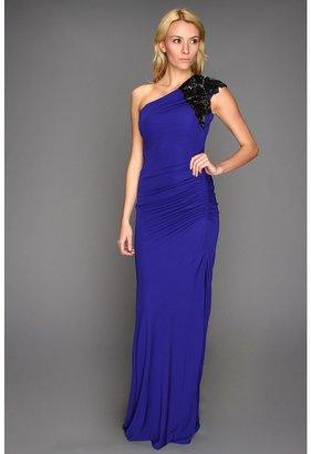 Badgley Mischka One-Shoulder Deco Sleeve (Ultra Violet) - Apparel