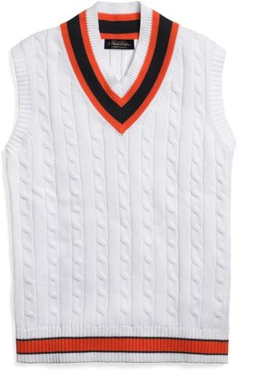 Brooks Brothers Supima® Cable Cricket Vest