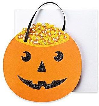 Martha Stewart MarthaCelebrationsTM Halloween Card - Pumpkin