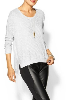 Velvet by Graham & Spencer Regine Thermal Knit Sweater