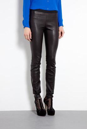 Theory Maximus Leather Leggings
