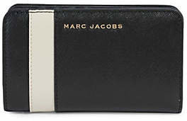 Marc Jacobs Compact Leather Bi-Fold Wallet