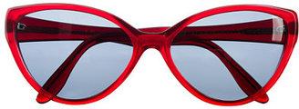 Cutler and Gross® cat-eye sunglasses