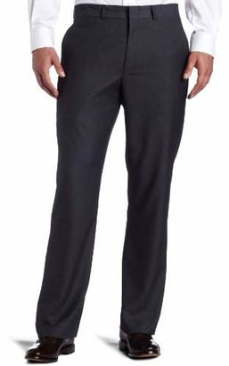 Kenneth Cole Reaction Men's Grey-Solid Suit Separate Pant