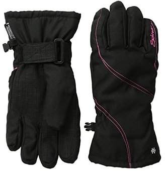 Seirus Msbehave Glove (Black/Hot Pink) Extreme Cold Weather Gloves