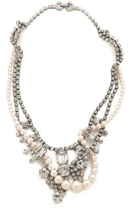 Tom Binns Grande Dame Crystal Tangled Necklace