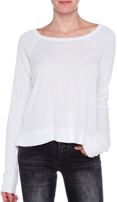 SUNDRY Cropped Sweatshirt