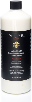 Philip B Light-Weight Deep Conditioning Creme RinseÂClassic Formula, 32 oz.