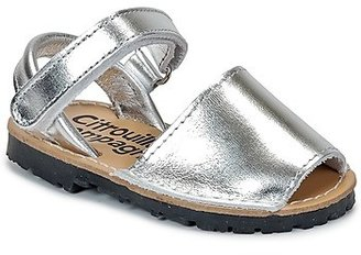 Citrouille et Compagnie BERLA girls's Sandals in Silver