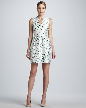 Raoul Viola V-Neck Printed Dress
