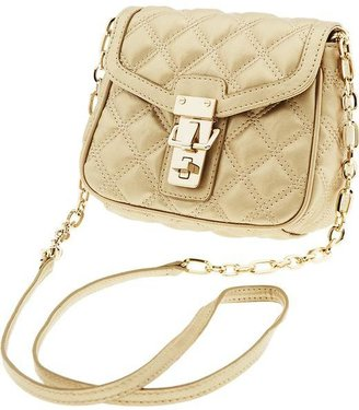 Banana Republic Quilted faux-leather cross-body