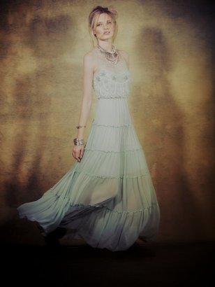 Free People Sprinkled Stardust Mesh Dress