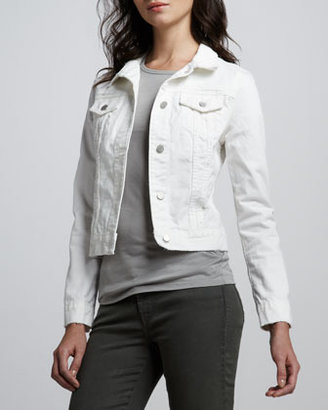 J Brand Jeans Beat Down Denim Jacket