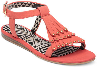 Jessica Simpson Shoes, Dexter Fringe Flat Sandals