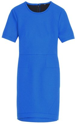 Tibi Bonded Techy Twill Dress