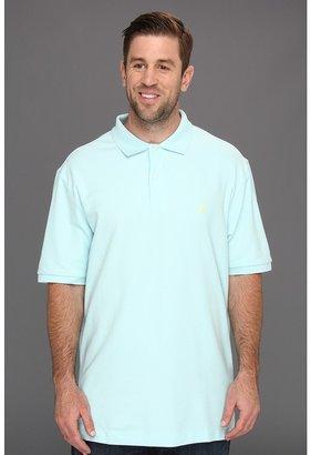 Nautica Big Tall Solid Deck Shirt (Reel Aqua) - Apparel