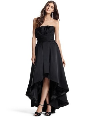 White House Black Market Strapless High-Low Gown