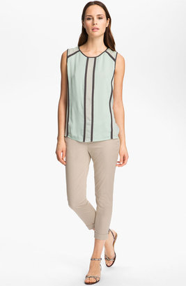 Isabella Collection J Brand Ready-to-Wear 'Isabella' Chiffon Top Foam Large