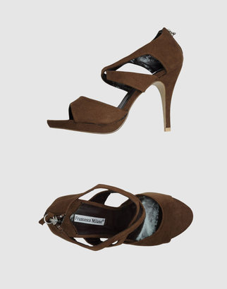 Francesco Milano Platform sandals