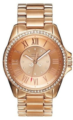 Juicy Couture Stella Pink Gold Watch