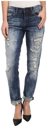 Blank NYC - Distressed Denim Boyfriend Relaxed Straight Jean in Fit Of Rage Women's Jeans $98 thestylecure.com