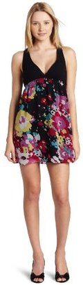 Roxy Juniors Hazy Surf Top Dress with Georgette Skirt