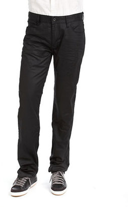 GUESS Lincoln Slim Coated Jeans