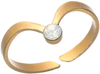 Shlomit Ofir Jewelry Gold and Crystal Aurora Ring