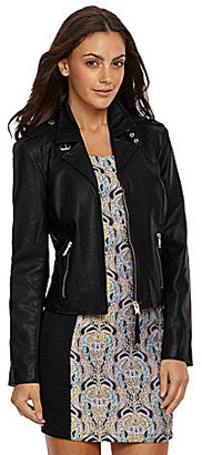 BB Dakota Faux-Leather Moto Jacket