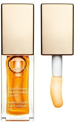 Clarins 'Instant Light' Lip Comfort Oil - 01-Honey